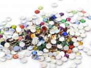 100 strass diamants multicolores