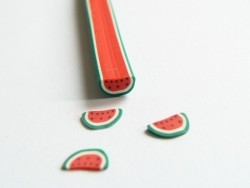Watermelon cane - halved watermalon