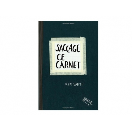 """French book """" saccage ce carnet !"""""""