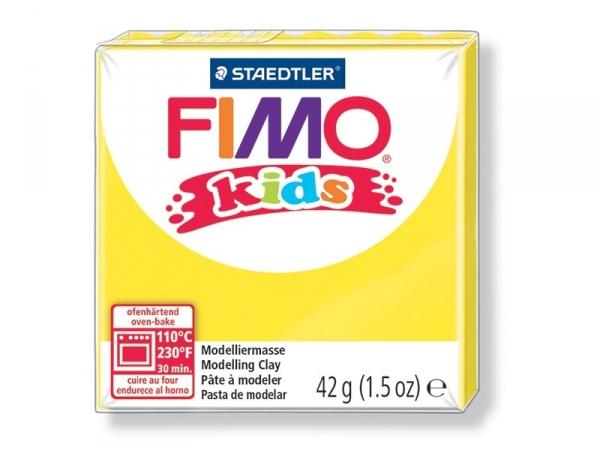 Pâte Fimo jaune 1 Kids Fimo - 1