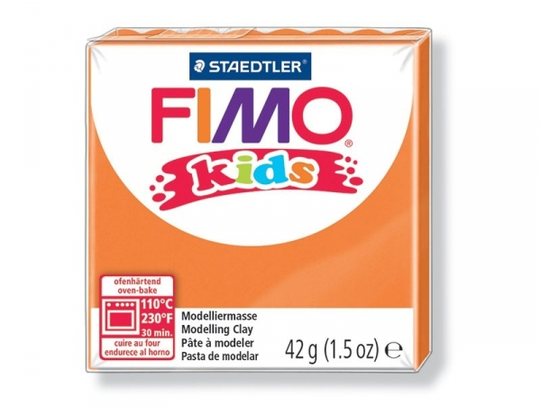 Pâte Fimo orange 4 Kids Fimo - 1