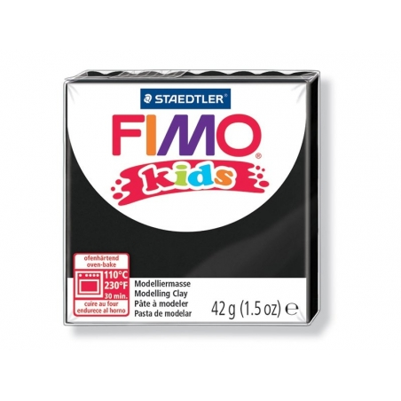 Fimo Kids - black no. 9