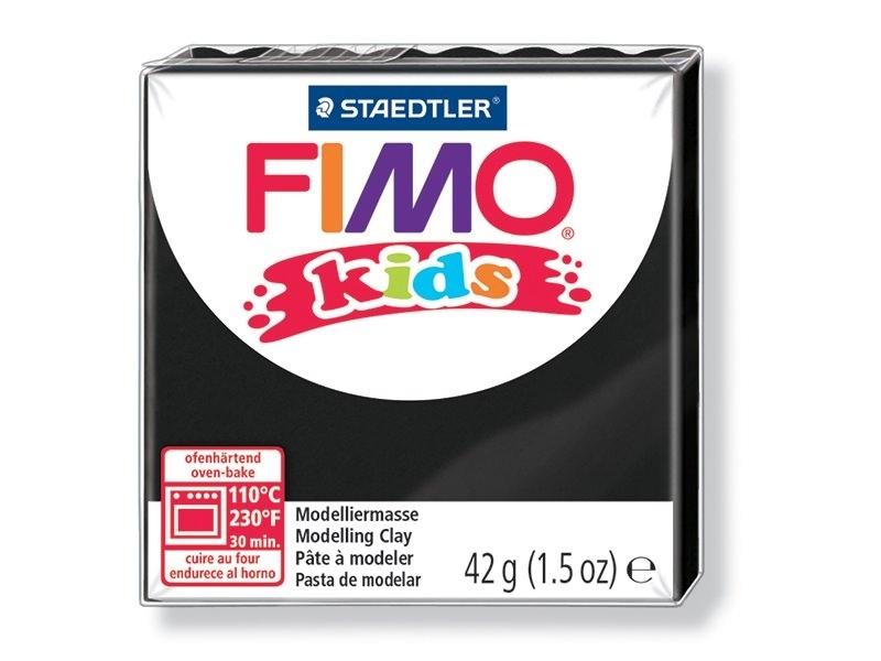 Acheter Pâte Fimo noir 9 Kids - 1,79€ en ligne sur La Petite Epicerie - Loisirs créatifs