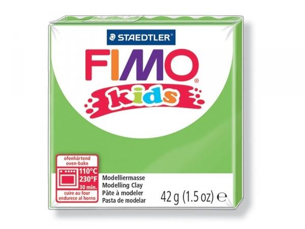 Pâte Fimo vert clair 51 Kids Fimo - 1