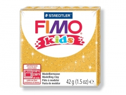 Fimo Kids - glitter colour gold no. 112