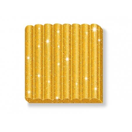 Fimo Kids - glitter colour gold no. 112