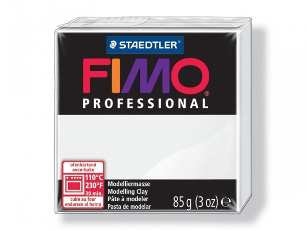 Fimo Professional - white no. 0