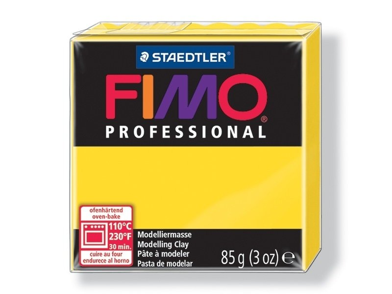 Acheter Pâte Fimo Pro jaune pur 100 - 2,99€ en ligne sur La Petite Epicerie - Loisirs créatifs