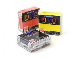 Pâte Fimo Pro jaune pur 100
