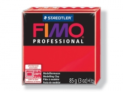 Fimo Professioal - true red no. 200