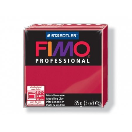 Pâte Fimo Pro carmin 29