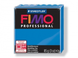 Pâte Fimo Pro bleu pur 300