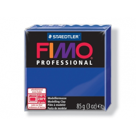 Pâte Fimo Pro ultra marine 33