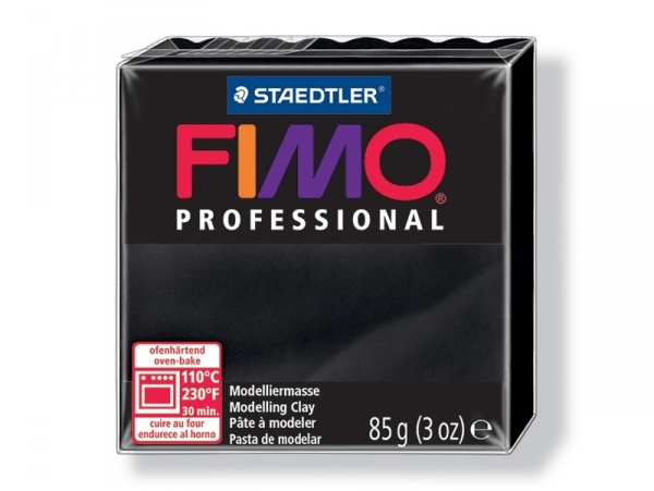 Fimo Professional - black no. 9