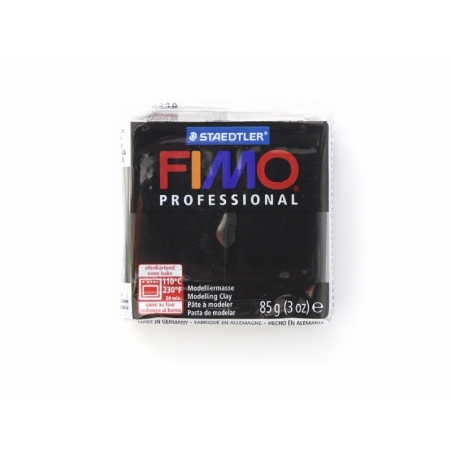 Pâte Fimo Pro noir 9