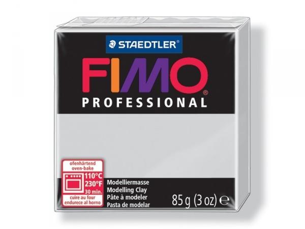 Pâte Fimo Pro gris 80 Fimo - 1