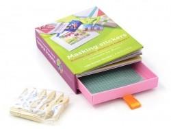 """Französisches Buch """"Coffret -tiroir - Masking stickers"""""""