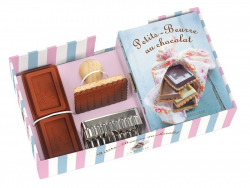 Coffret Petits-beurre au chocolat - avec livre