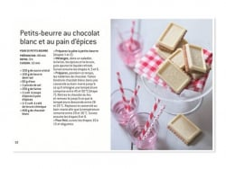 "French book ""Coffret Petits-beurre au chocolat - """