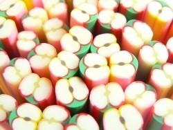 Sternapfelcane - grell, mit Kernen