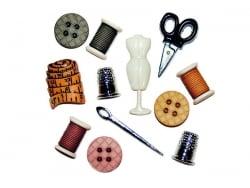 Acheter Boutons en plastique - Couturière - 5,20€ en ligne sur La Petite Epicerie - 100% Loisirs créatifs