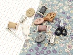 Boutons en plastique - Couturière