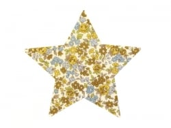 Iron-on patch - floral star - Margot (17)