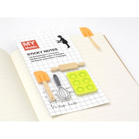 120 stickers / bookmarks - Pastry chef