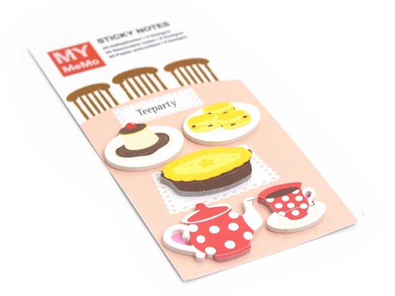 100 Stickers marque-pages - L'heure du thé