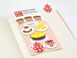 100 stickers / bookmarks - Tea time