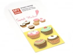 120 Stickers marque-pages - Cupcakes