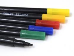 Acheter 6 feutres pour tissus - couleurs primaires - 9,20€ en ligne sur La Petite Epicerie - Loisirs créatifs