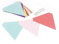 kit guirlande Fanions colorés - multicolore