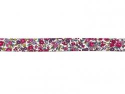 Biais THERMOCOLLANT fleuri 2mx20mm - 13 Lucie - Frou-Frou