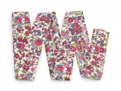 Floral iron-on bias binding (2 m x 20 mm) - Lucie (13) - Frou-Frou