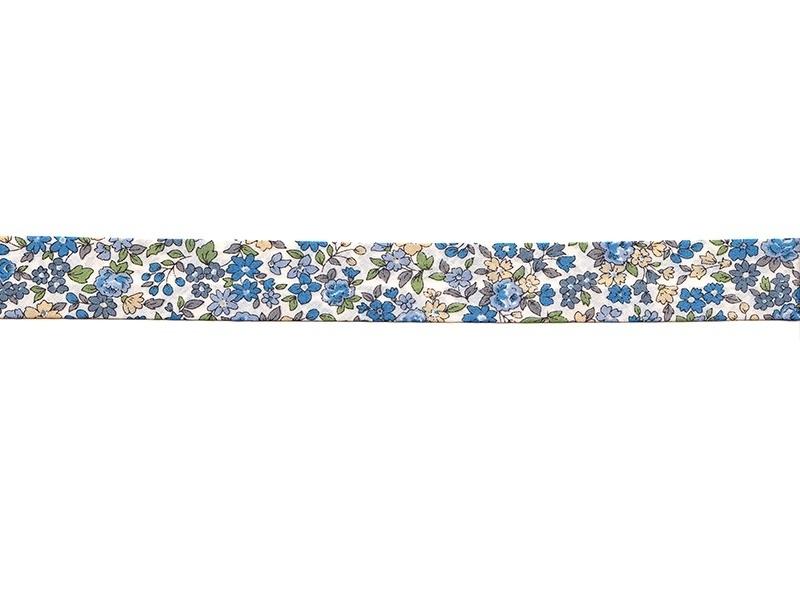 Biais THERMOCOLLANT fleuri 2mx20mm - 15 Mathilde - Frou-Frou