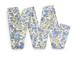 Floral iron-on bias binding (2 m x 20 mm) - Mathilde (15) - Frou-Frou