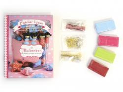 Livre L'atelier bijoux de Missbonbon - Créations en pâte polymère