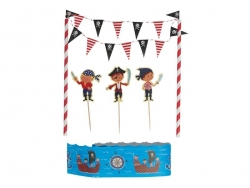 Set de décoration à gâteau - Pirate Dotcomgiftshop - 3