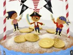Set de décoration à gâteau - Pirate