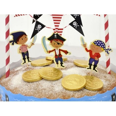 Set de décoration à gâteau - Pirate Dotcomgiftshop - 2