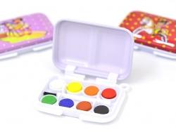 Mini boîte de peinture - 8 couleurs