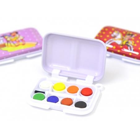 Mini paintbox - 8 colours