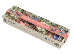 Set de 24 caissettes à cupcakes 6cm et 12 toppers