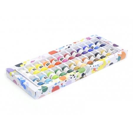 Super set - 24 acrylic paint bottles Rico Design - 1