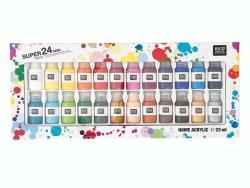 Super set - 24 acrylic paint bottles Rico Design - 3