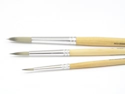 1 round school brush - no. 1  - 2