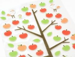 Filzsticker - Äpfel