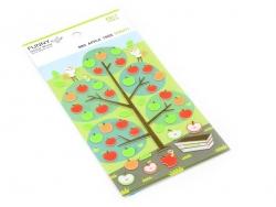 Stickers en feutrine - Pommes