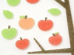 Acheter Stickers en feutrine - Pommes - 2,29€ en ligne sur La Petite Epicerie - Loisirs créatifs